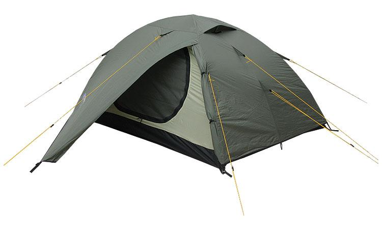 Палатка Terra Incognita Alfa 3 Зеленый (TI-ALFA3S)
