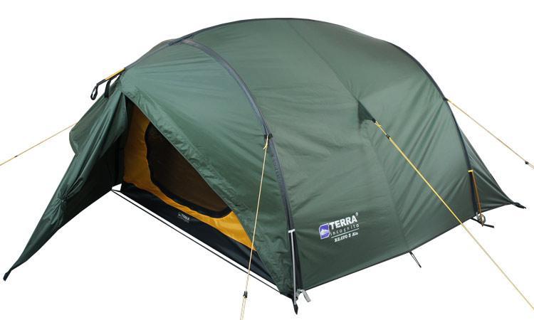 Палатка Terra Incognita Bravo 3 Темно-зеленый (TI-BRA3)