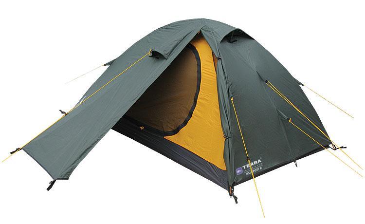 Палатка Terra Incognita Platou 2 Темно-зеленый (TI-PLT2)