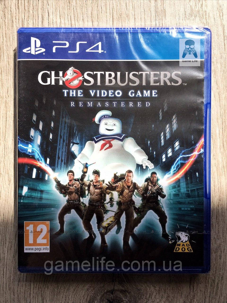 Ghostbusters The Video Game Remastered (англ.) PS4
