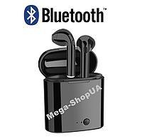 Беспроводные Bluetooth наушники i7S Mini TWS. Бездротові навушники. Беспроводні блютуз блютус наушники