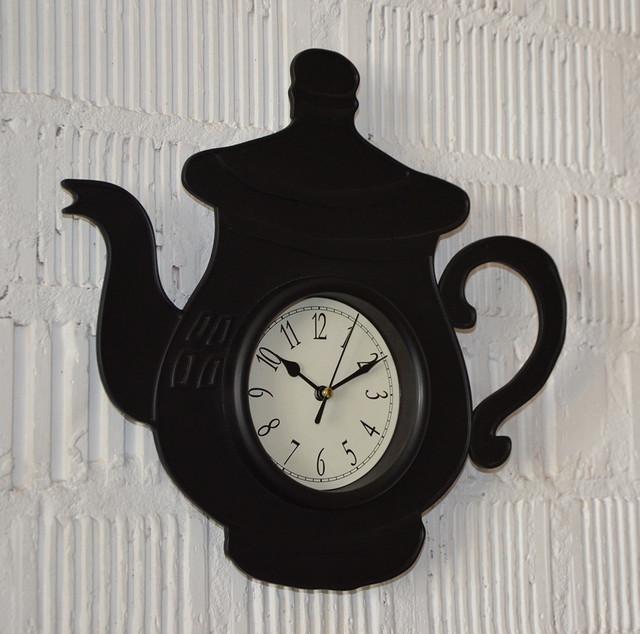 Настенные часы кухонные (фото)