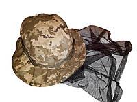 """Шляпа """"Камуфляж"""" с москитной сеткой"""