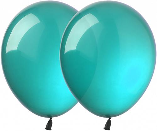 """Латексный шар без рисунка Kalisan Декоратор Бирюзовый 12"""" 30 см"""