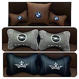 Автомобильная подушка подголовник Бабочка, фото 3