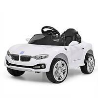 Детский электромобиль Машина «BMW» M 3175EBLR-1 Белый для девочки и мальчика 2 3 4 5 6 лет машинка БМВ
