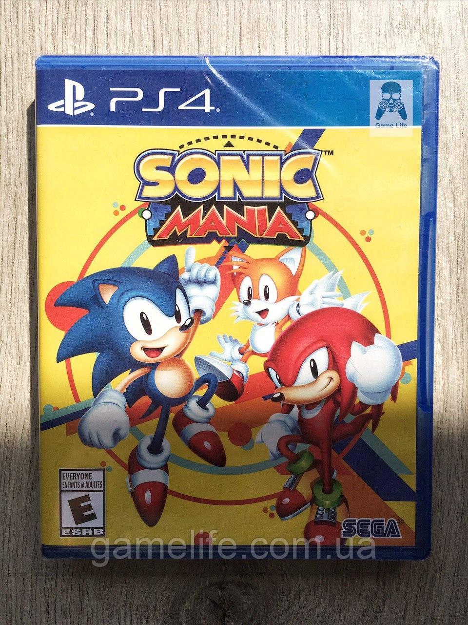 Sonic Mania (англ.) PS4