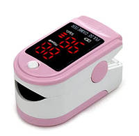 Пульсовий оксиметр CONTEC CMS50DL LED пульсометр на палець Рожевий (4278_7)