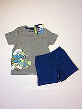 Піжама Smurfs на хлопчика 2-4 роки, ріст 98-104
