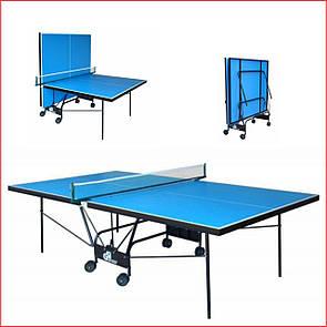Теннисный стол для помещений для зала Gsi-Sport Компакт Премиум Compact Premium