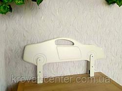 """Защитный барьер в белых оттенках """"Машинка"""" 90 см., фото 2"""