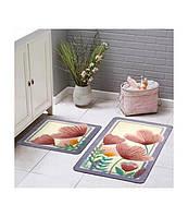 Набор ковриков для ванной комнаты Tac Fiore   60*100 см + 50*60 см