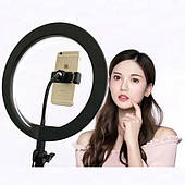 Кольцевая LED лампа Tomax селфи кольцо для съемки блога или макияжа для телефона от USB Ring Fill размер 26 см