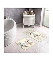 Набор ковриков для ванной комнаты Tac Lily  60*100 см + 50*60 см