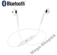 Наушники и гарнитура беспроводные Bluetooth МC-6-2. Бездротові навушники. Блютуз наушники для телефона
