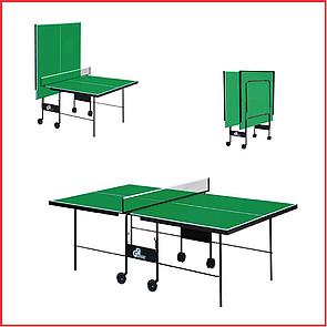 Теннисный стол для пинг понга для помещений Атлетик Стронг GSI-Sport Athletic Strong Gp-3