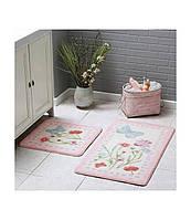 Набор ковриков для ванной комнаты Tac Prete  60*100 см + 50*60 см