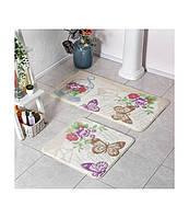 Набор ковриков для ванной комнаты Tac Randy  60*100 см + 50*60 см