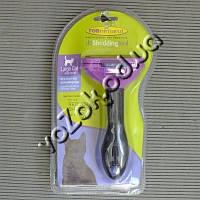 Фурминатор для крупных короткошерстных кошек FURminator Short Hair Large Cat deShedding 6,7см c кнопкой, фото 1