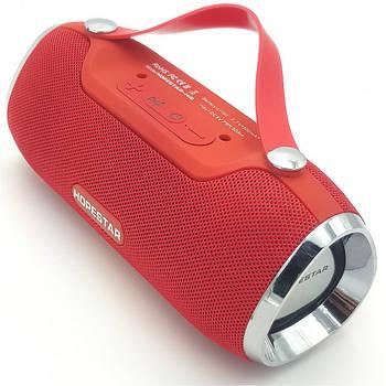 Портативна Bluetooth колонка Hopestar H40 Червоний