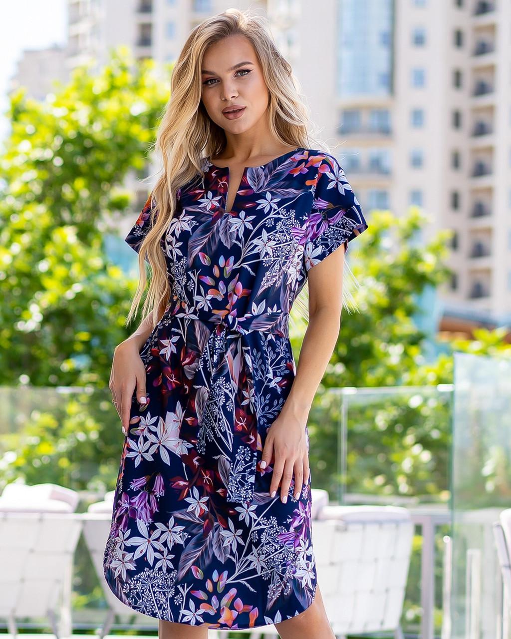 Легкое платье из софта размеры 48-50,52-54