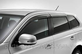 Mitsubishi Outlander 2014-16 ветровики дефлекторы новые оригинал