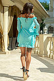 Легкое и нежное платье из прошвы на подкладе, 7цветов , р.44,46,48,50 Код 848В, фото 2