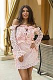 Легкое и нежное платье из прошвы на подкладе, 7цветов , р.44,46,48,50 Код 848В, фото 6
