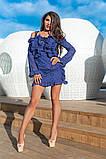 Легкое и нежное платье из прошвы на подкладе, 7цветов , р.44,46,48,50 Код 848В, фото 8
