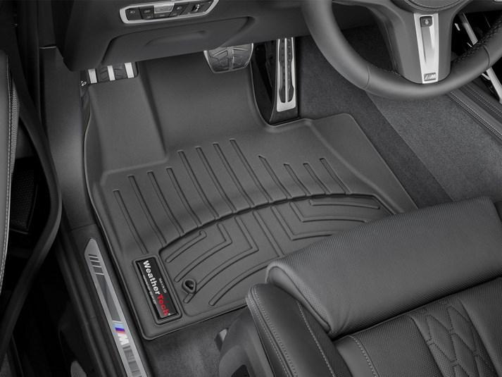 Ковры резиновые WeatherTech BMW X5 2019+  передние черные