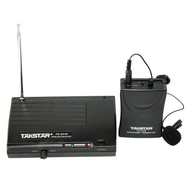 Профессиональный беспроводной динамический микрофон TS-331B, электронное переключение на подавление шума