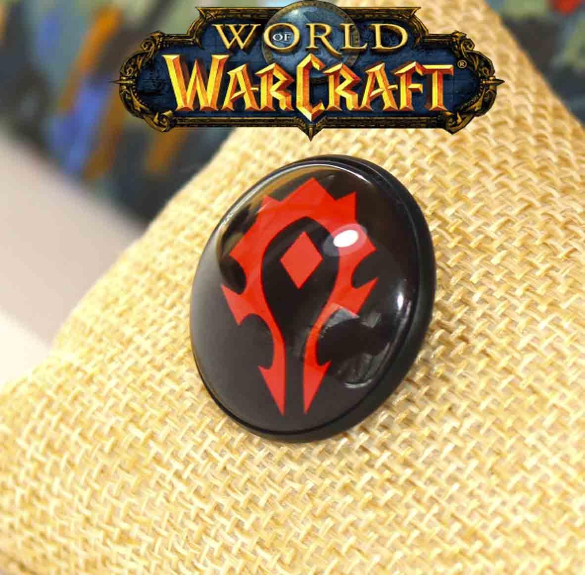 Пин значок символ орды Warcraft Варкрафт