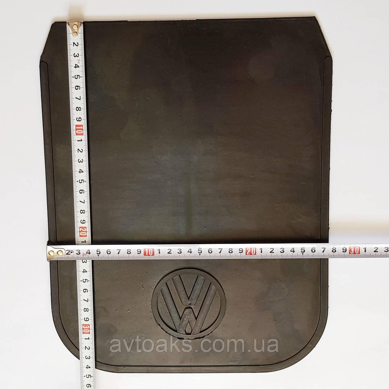 "Брызговик резиновый, с эмблемой ""W"" 34х28 см"