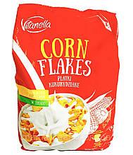 Хлопья кукурузные Vitanella Corn Flakes 500 г Польша
