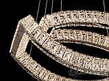 Кришталева світлодіодна люстра-підвіс D6041, фото 6