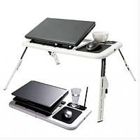 Портативный столик для ноутбука с 2 вентиляторами
