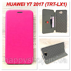 Чехол-книжка G-Case для Huawei Y7 2017 (TRT-LX1) Розовый