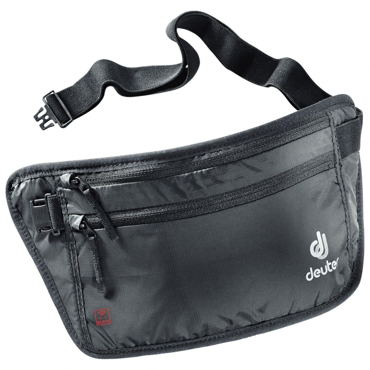 Потайной кошелек Deuter Security Money Belt II RFID BLOCK black (3942820 7000)