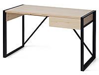 Стол A8Loft в стиле Loft натуральное дерево Сосна 120x60x75 см Бежевый + Черный 124-1206075-10, КОД: 1624405