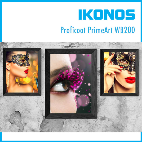 Бумага IKONOS Proficoat PrimeArt PPM WB200  1,37х75м
