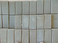 Тротуарна плитка бруківка 3см, сіра