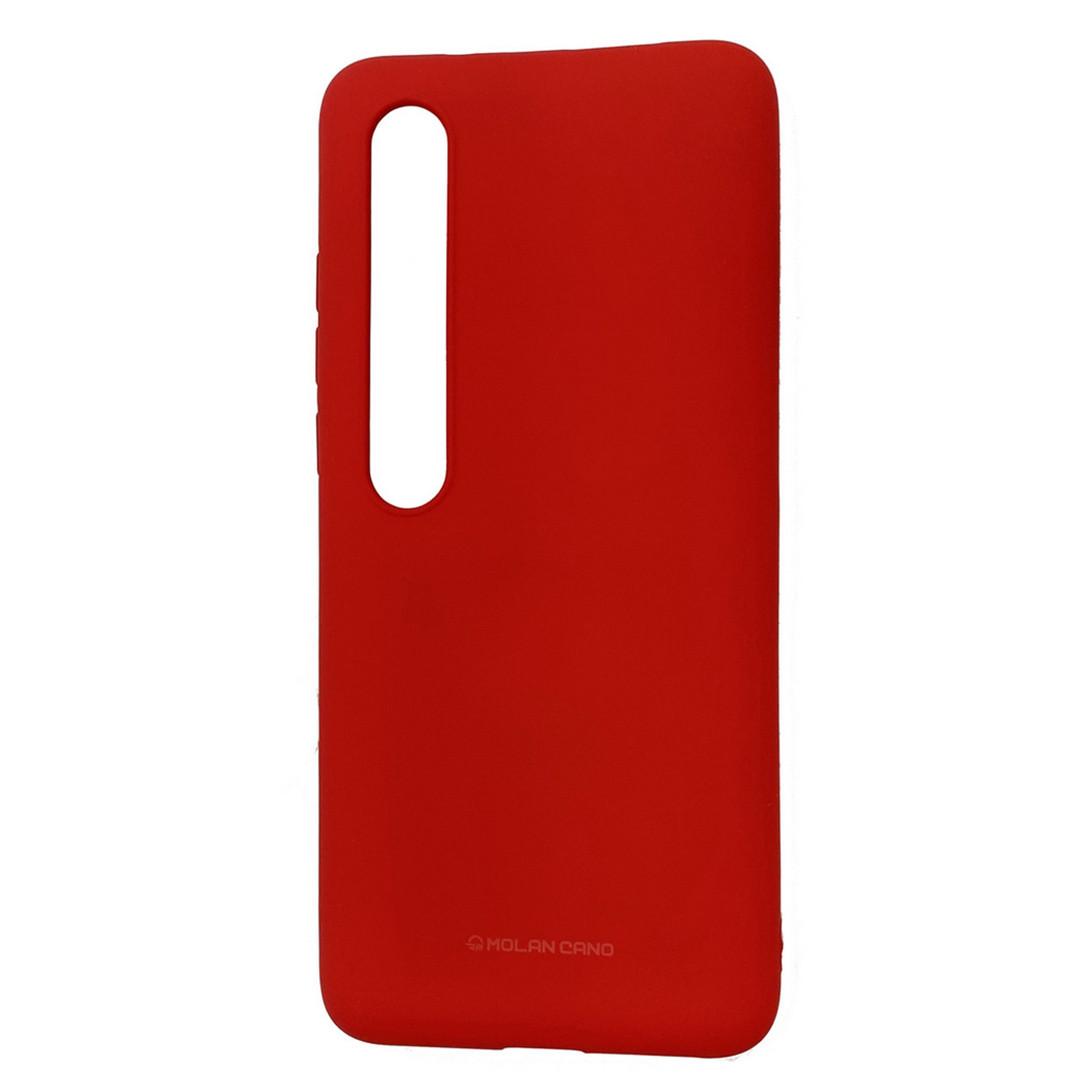 Оригинальный силиконовый чехол Molan Cano для Xiaomi Mi 10 / Mi 10 Pro, красный