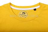 Чоловіча футболка жовта, фото 3