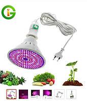 Фитолампа на 290 LED 100Вт Grow Light E27 Лампа Full Spectrum Indoor Растение Растущая Лампа Гидропонная сист.