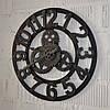 """Настінний годинник """"Silver gears"""" (40 см.)"""