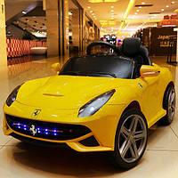 Детский электромобиль Ferrari FL1078 Желтый