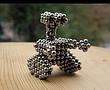 Кольоровий неокуб, Іграшка антистрес, головоломка, магнітний конструктор Неокуб, фото 3