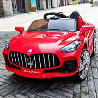 Детский электромобиль Maserati T-7651 Красный