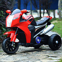 Детский электро-мотоцикл BMW T-7213 Красный
