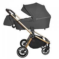 Коляска универсальная для новорожденных CARRELLO Epica CRL-8510 (2in1) Iron Grey +дождевик